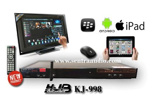 KJB  KJ-998 Android & Apple Karaoke Player HDD
