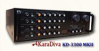 KaraDiva KD-3300MKII Karaoke Amplifier